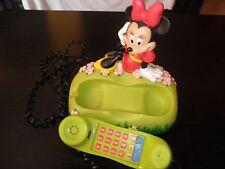 TELEFONO VINTAGE DISNEY MINNIE  MICKEY MOUSE UNICO COLECCIONISTAS. SIN USO+ ¡¡¡¡