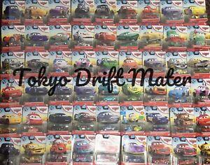 DISNEY PIXAR CARS 1 2 3 2020 2021 CARD NEW Diecast TOKYO DRIFT PLANES BUNDLE TOY