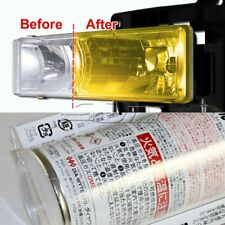VANS Yellow Tint Lens Tail Head Fog Coner Light Side Marker Painter Spray DIY C