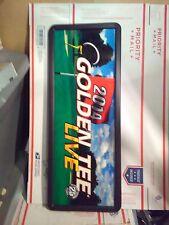 golden tee 2014 arcade marquee with frame #11