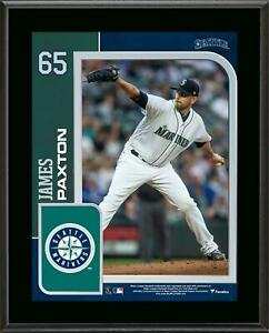 """James Paxton Seattle Mariners 10.5"""" x 13"""" Sublimated Player Plaque - Fanatics"""