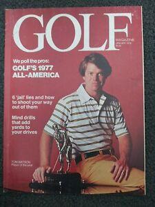 Golf - Tom Watson - 1978 Golf Magazine - Complete