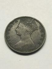 1900-H Hong Kong 1 Cent Fine+ #12041