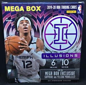2019/20 PANINI ILLUSIONS BASKETBALL NBA MEGA BOX NEW SEALED FREE SHIPPING QTY
