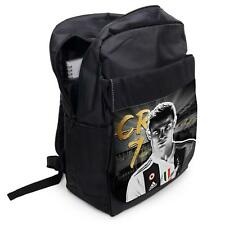 RONALDO Juve Backpack School Sports Laptop Bag Boys Football Rucksack