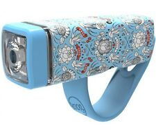 Knog POP 1 Front LED Headlight MTB Bicycle Bike Light POP1 Sky Blue