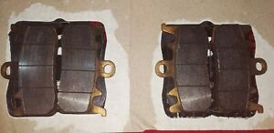 BREMBO FRONT BRAKE PADS SINTERED HH, AUTHENTIC, LIGHTLY USED