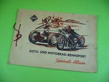 406KA2 SADEX Sammel-Album AUTO- UND MOTORRAD-RENNSPORT (nicht komplett)