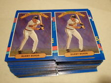 Lot of 100 - 1991 Donruss Diamond Kings # 4  Barry Bonds