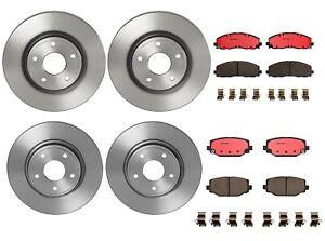 Brembo Front & Rear Brake Kit Disc Rotors Ceramic Pads For Chrysler Dodge Ram VW