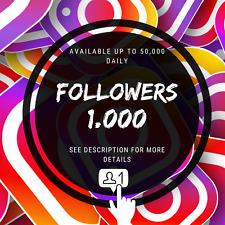 FOLLOW 50,000 Instagram