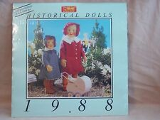Steiff - Historical Dolls Calendar from 1988 - new and unopened - limited editio
