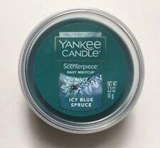 YANKEE CANDLE SCENTERPIECE ICY BLUE SPRUCE EASY MELT CUP NEW HOLIDAY 2018