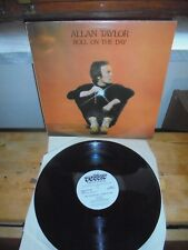 """Allan Taylor """"Roll On The Day"""" LP RUBBER UK 1980"""
