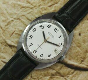 Vintage Men's Watch Vostok 2414 Watch Wostok 17j USSR Dress Soviet Vintage Watch