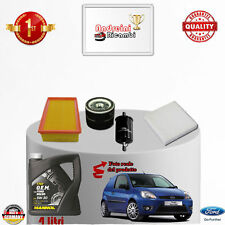 Replacement Filter Kit+Oil Ford Fiesta V 1.4 16V 58KW 80CV from 2007 -> 2008