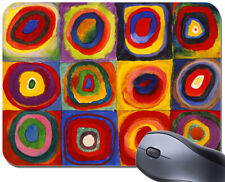Wassily Kandinsky Farbstudie Quadrate Mouse Mat. Squares And Circles Mouse Pad