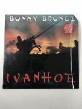 Bunny Brunel Ivanhoe Lp 1982 1st U.S Press In OG Shrink W/Hype Vinyl NM IC 1162B