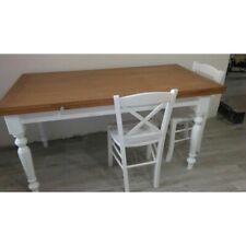 Table Oak White 2 Extending Or Opening Folding (715-716-717)