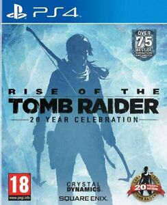 Rise of the Tomb Raider 20 Year Celebration (PS4) - New & Sealed - FAST DELIVERY