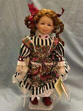 Christmas Around The World House of LLoyd Porcelain Doll Margaret Ann