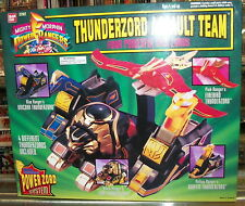 THUNDERZORD ASSAULT TEAM MIGHTY MORPHIN POWER RANGERS SET - BANDAI - 1993