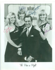 BOB BARKER SIGNED PHOTO 8X10 RP AUTOGRAPHED THE PRICE IS RIGHT FULL GROUP