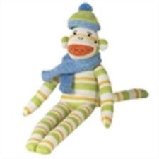 babe  13 in green stripe  monkeez sock monkey sale new mvp