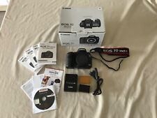 Canon EOS 7d Mark II Body / Gehäuse 20.2 MP DSLR Digitalkamera * TOP ZUSTAND *