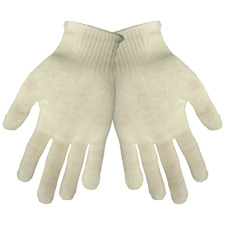 Global Glove S13Wt White Thermastat Universal Size Cold Keep Glove Liners Dozen