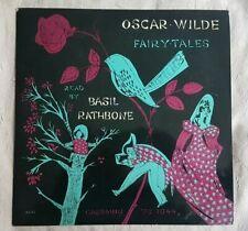 Oscar Wilde - Fairy tales read by Basil Rathbone - 33 T Vinyle  - TBE