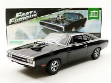 Greenlight Fast and Furious 1970 Dom's Charger Juguete - Negro