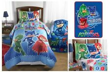 KIDS GIRLS BOYS  PJ MASKS BED IN A BAG / COMFORTER SET - 3 PRINTS