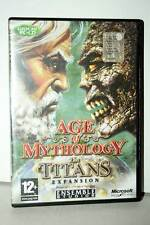 AGE OF MYTHOLOGY THE TITANS ESPANSIONE USATA PC CDROM VER ITALIANA FR1 38895