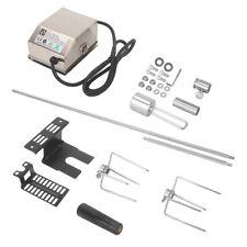 Elektrischer Grillspiess Drehspiess Set mit 2 Fleischnadeln inkl. Motor