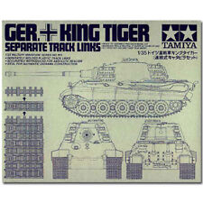 TAMIYA 35165 King Tiger track links 1,35 kit de modèle militaire