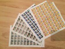 #621 Philatrade $680 SC# 578-581 Sao Tome and Principe postage stamp sheets MNH