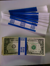 50 - New Self-Sealing Currency Bands - $100 Denomination  Straps Money Ones