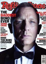 Rolling Stone Magazine #1170 November 22, 2012 music 007 Skyfall DANIEL CRAIG