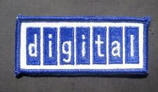 """DIGITAL EMBROIDERED SEW ON PATCH ADVERTISING UNIFORM COMPANY 3 1/2"""" x 1 1/2"""""""