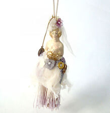 Katherine's Collection Bride Tassel Doll Lavender Tassels