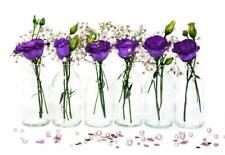 24x kleine Vasen TR-mini-100 Väschen Glas Flasche Deko set Hochzeit Blumenvasen