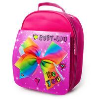 JoJo Siwa Lunch Bag Girls School Childrens Insulated Pink Personalised JOJO 2