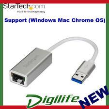 StarTech USB 3.0 to Gigabit Ethernet Network Adapter RJ45 Sleek Aluminum PC MAC