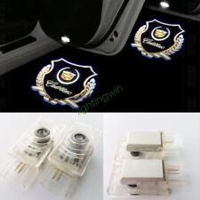 LED Car door Light Ghost Shadow Light for Cadillac CTS SRX ATS XTS 2pcs