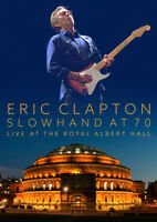 ERIC CLAPTON - SLOWHAND AT 70 LIVE AT THE ROYAL ALBERT HALL DVD ~ GUITAR *NEW*