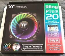 Custom Thermaltake Riing Plus 20 RGB PWM Case Fan TT Premium Edition