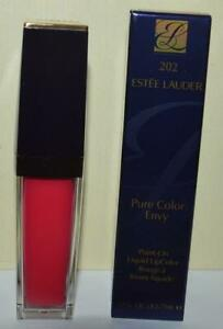 ESTEE LAUDER Snapped Up #202 Pure Color Envy Liquid Matte LipColor FULL SIZE NIB