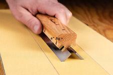 """Planer jointer Knives razor sharpening using Sandpaper 6"""""""