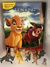 DISNEYS LION KING BUSY BOOK - 10 FIGURES AND A PLAYMAT BRAND NEW FREE P+P